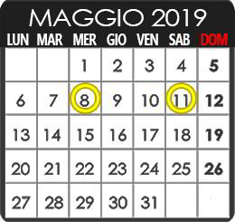 Luce Naturale - mese marzo